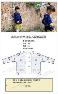 Como hacer una blusa manga 3_4 para niñas06
