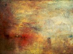 Turner (Monet): Later Paintings, gezien 3 maart 2012 in de Staatsgalerie Stuttgart