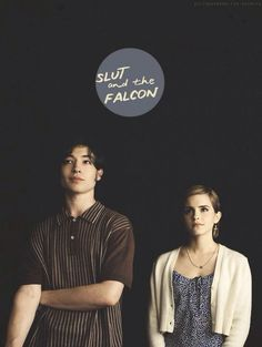 Make a story about us. Call us slut and the falcon . Ya, make us solve crimes.
