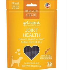 Get Naked Joint Health Dental Chew Sticks for Adult Dogs