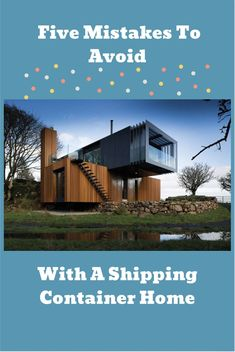 Build Container Home 298433912809740570 - Reduce your stress and budget impacts by avoiding these mistakes that are common for shipping container home builders Source by DiscoverContainers Shipping Container Home Builders, Prefab Container Homes, Shipping Container Home Designs, Cargo Container Homes, Building A Container Home, Container Buildings, Container Architecture, Container Houses, Container House Design