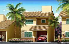 Fachadas de casas de sobrados � veja 50 modelos lindos!