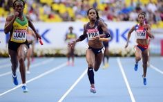 Stella Akakpo au relais 4x100m se bat contre ses principales concurrentes... les Jamaïcaines!   #benestarfrance #teambenestar #StellaAkakpo #athletisme
