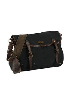 I want this...Canvas New Messenger Bag