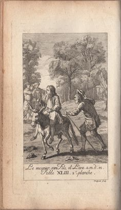 """""""The Miller, His Son, and the Ass""""  (Recueil 1, Livre 3, fable 1)"""