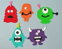 Monster Set | Flannel Board Fun