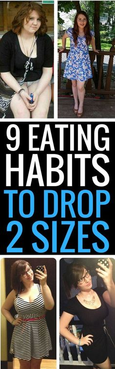 9 eating tips to drop 2 dress sizes quickly.
