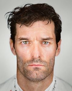 Mark Webber as photographed by Martin Schoeller during 6hr of Nurburgring 2016
