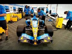 Playing music with the F1 car engine