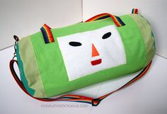 Katamari Damacy Inspired The Prince Duffel by LittleWhiteOctopus