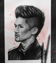 """🔽irene_bane🔽 on Instagram: """"Magnus Bane❤ Comission drawing for (Twitter: Serinade) #MagnusBane #Shadowhunters #FanArt #МагнусБейн . . . #drawing #creation #painting…"""" Tumblr Movie, Shadowhunters, Malec, Cassandra Clare, The Mortal Instruments, Wicca, Art Sketches, Movies And Tv Shows, Book Art"""