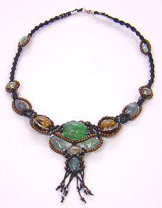 Macrame Tsarina necklace