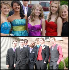 prom prom prom :) I like the sparkly blue dress on the left