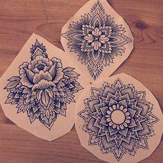 #tattoo #design #drawing #mandala