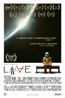 Love (2011). After losing contact with Earth, Astronaut Lee Miller becomes stranded in orbit alone aboard the International Space Station. As time passes and life support systems dwindle,  Lee battles to maintain his sanity - and simply stay alive. His world is a claustrophobic and lonely existence, until he makes a strange discovery aboard the ship.  Director: William Eubank Writer: William Eubank Stars: Gunner Wright, Corey Richardson, Bradley Horne