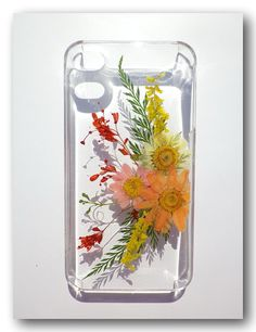 Handmade iPhone 5/5s case Resin with Dried by Annysworkshop, $18.00