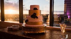 Wedding or Knot Feb 2016 at the Commerce Club Greenville - Josh Jones photo, Kathy & Co Cake #greenvilleweddings #ccweddings