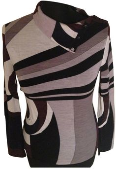 6f7abd3aed44 Emilio Pucci Multicolour Knitwear - ShopStyle Turtlenecks