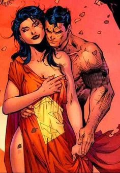 Lois Lane and Clark Kent by Jim Lee