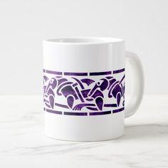 Traditional Celtic Dogs Border Mug - animal gift ideas animals and pets diy customize