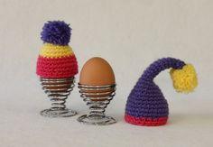 Free crochet egg cosy pattern