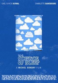 The Science of Sleep (2006) ~ Minimal Movie Poster by Edson Muzada #amusementphile