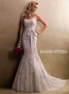 Judith - by Maggie Sottero: had I worn white, this would have been it