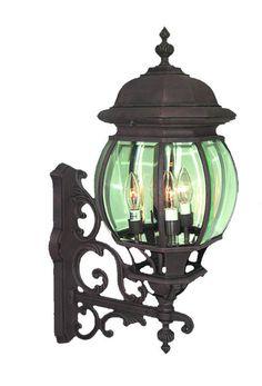 Woodbridge Lighting Outdoor - Basic 1-light Powder Coat Rust Outdoor Light