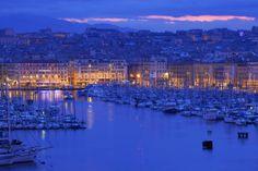 El puerto de Marsella