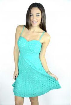 The Mint Summer Dress $29.00
