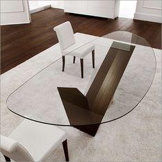 Schön Cattelan Italia Valentino Glass Table, Wood U0026 Marble · Glasplatte EsstischEsstisch  DesignModernen ...
