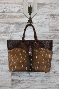 b23482eede0 23 Best Axis Deer Hide Purses designed by Stephany Miller S.E.M. ...