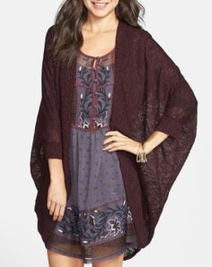 Love this over-sized cardigan!