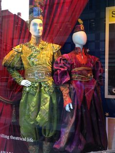 Costumes from Aladdin - The Musical, designed by Gregg Barnes