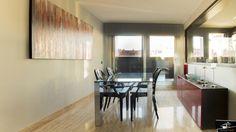 Zona de comedor de la vivienda de diseño realizada por el estudio de Arquitectura GrupoIAS en la Moraleja