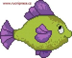 cross stitch fish