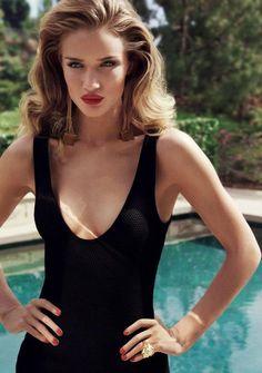 Rosie Huntington-Whiteley – Harper's Bazaar UKMagazine Photoshoot