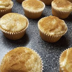 Yes I made milktart cupcakes, because I'm extra like that😄 Milk Tart, Gourmet Cupcakes, Delish, Muffin, Baking, Breakfast, Day, Instagram, Food