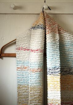 Whit's Knits: Striped Cotton Cowl by the purl bee, via Flickr www.AlpacaDirect carries so many shades of Cascade Ultra Pima that it would be perfect for this!