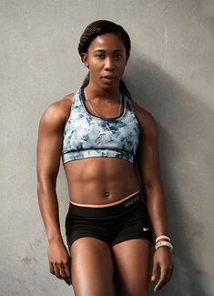 Powerful Shelly Ann Fraser Pryce