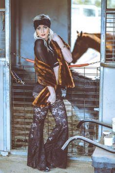 Mystic Farm w/Kinsey Scarves & Gaia Goddessa-- Velvet Turban Goodness. Shop gypsy style --- www.KinseyScarves.com