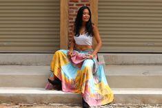 Boho Skirt / Maxi Skirt / Maxi Boho Skirt /Modest Skirt / Beach Skirt /Full Length skirt / Tie Dye Skirt/ Long Skirt Modest Skirts, Maxi Skirts, Boho Skirts, Wrap Skirts, Full Length Skirts, Beach Skirt, Beach Tops, Cotton Skirt, Soft Light