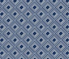 Navy tin ceiling fabric