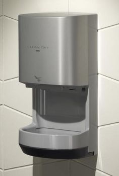 TOTO HDR100#GY Cleandry High Speed Hand Dryer Gray Finish, Gray