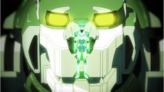 Pidge bonds with the Green Lion as a Green Paladin from Voltron Legendary Defender