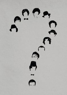Doctor Who print  Who  Dr Who inspired A3 Minimalist by JonTurner, £11.00