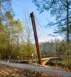Henry David Thoreau Footbridge | Gray Organschi Architecture