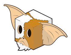 art cube vector illustrator gremlins gizmo mogwai draw