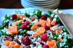 Plan to Eat - Recipe: Chicken, Orange and Kale Salad - sassyrancher