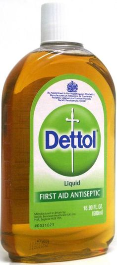 Dettol - My household will never be without, no matter where I may live.
